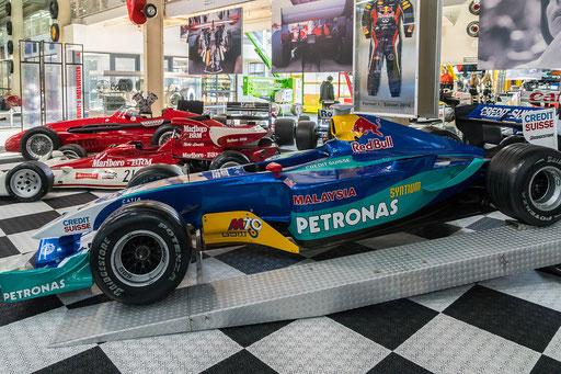 Sauber Petronas C21; 850 PS; Baujahr: 2002