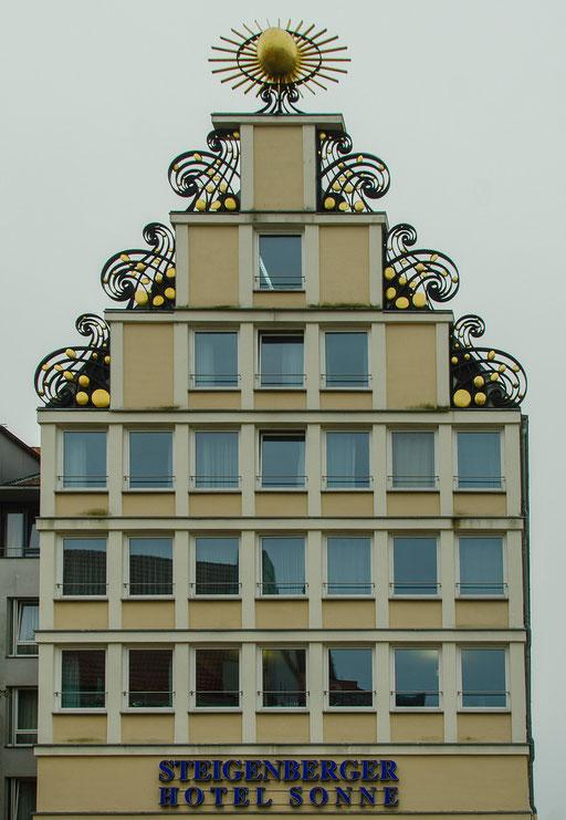 Schöne Fassade