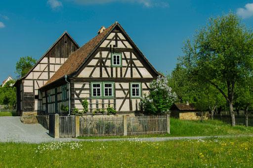 Hofstelle aus Trappstadt, Landkreis Rhön-Grabfeld