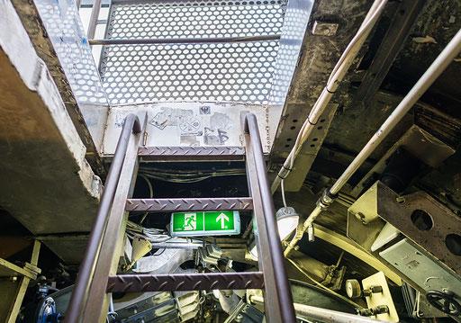 Unterseeboot U-9, Ausstieg