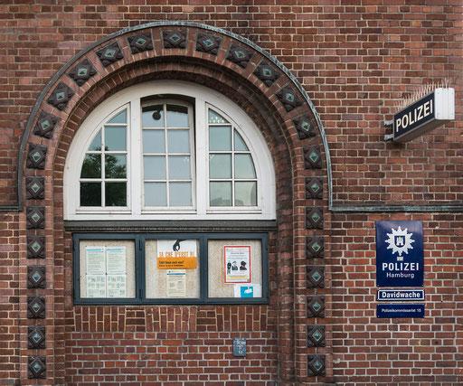 Davidwache, die wohl bekannteste Polizeidienststelle Deutschlands