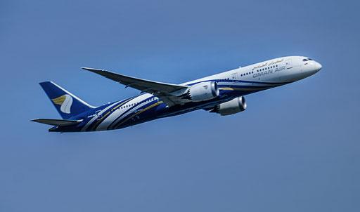 Oman Air ist die nationale Fluggesellschaft des Oman mit Sitz in Maskat und Basis auf dem Flughafen Maskat.