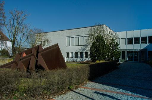 Friedensstraße, Amtsgericht-Eingang