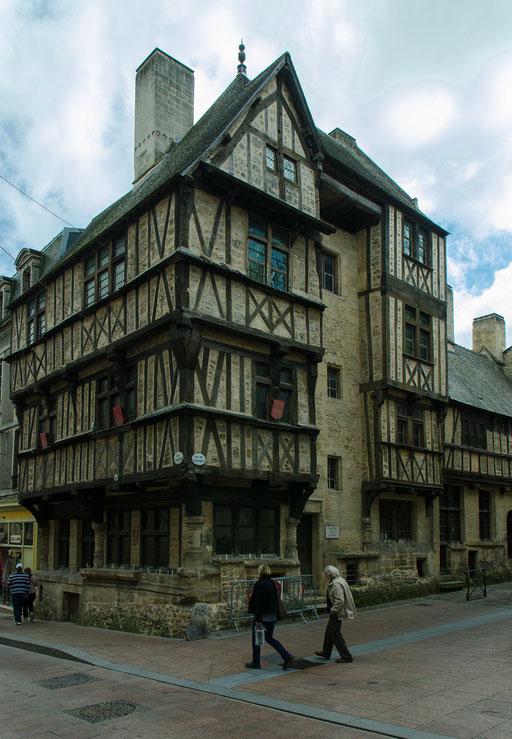 Häuser der Altstadt von Bayeux
