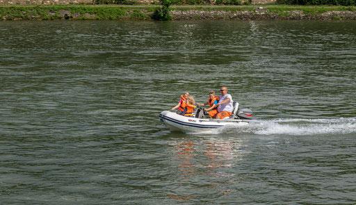 Mit dem Familiendampfer auf dem Rhein unterwegs