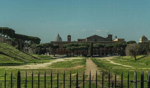 """Das untere Ende des """"Circus Maximus"""""""