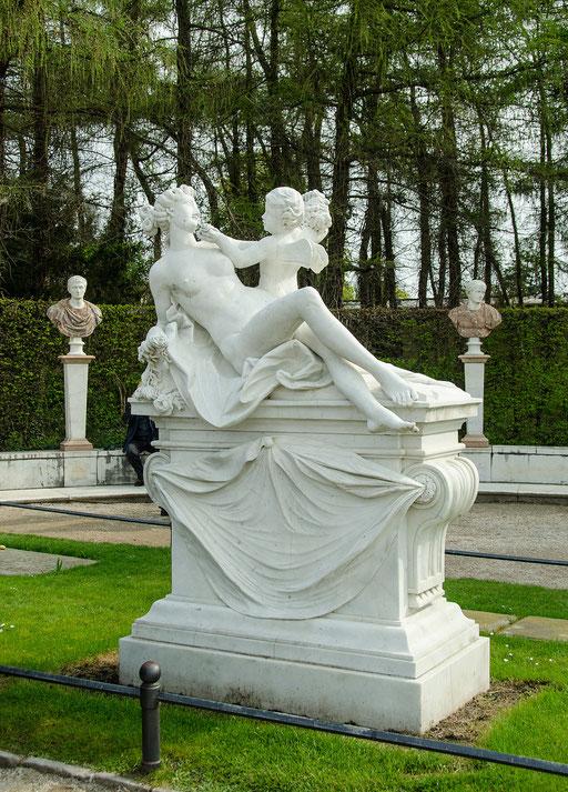Schloß Sanssouci, Grabstätte von König Friedrich der Große