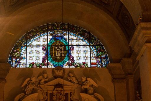 Im Innern einer Kirche