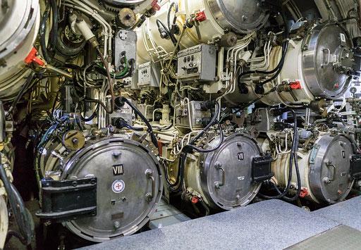 Unterseeboot U-9, Torpedoabschußrohre
