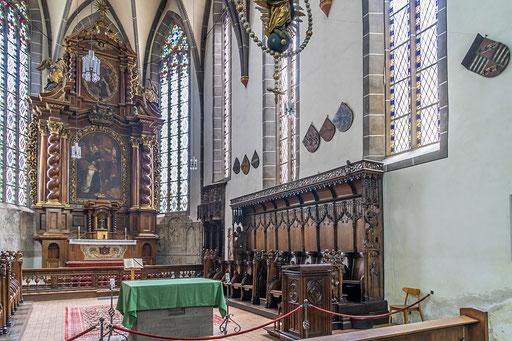 Im Innenraum der Karmeliterkirche