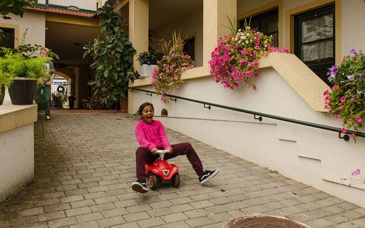 Lavinia fährt Streckenrekord