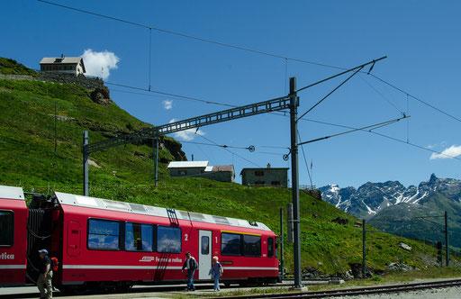 Der Bahnhof Alp Grüm