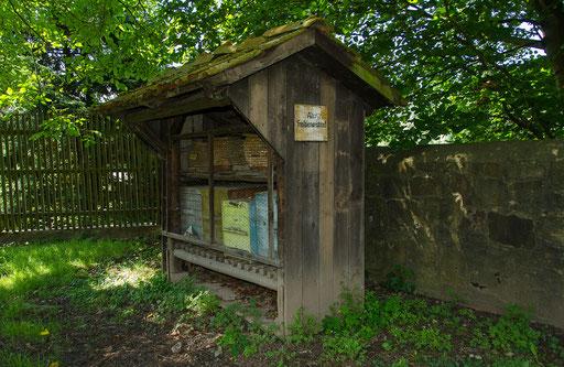 Bienenhaus, Bild aus dem Rhöner Museumsdorf Tann
