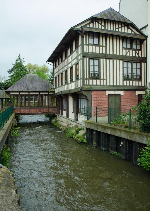 Lisieux / das Flüßchen Orbiquet