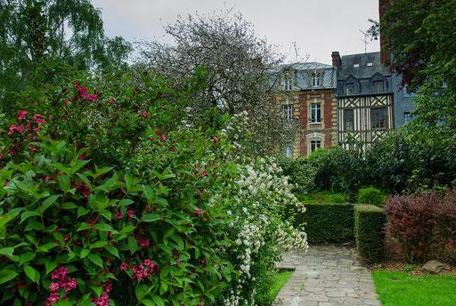 Der Weg zum Jardin de Leveche