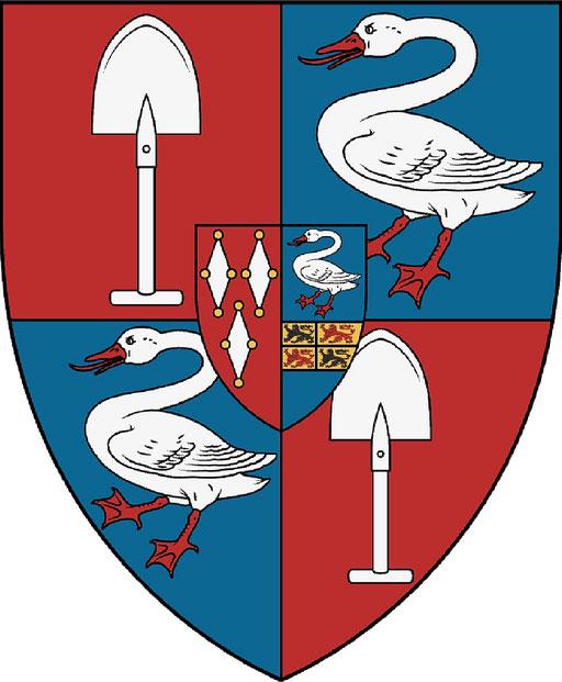 Coat of arms De Graeff, Vrijheer Purmerland and Ilpendam, Jonkheer(or Vrijheer) of Zuid-Polsbroek