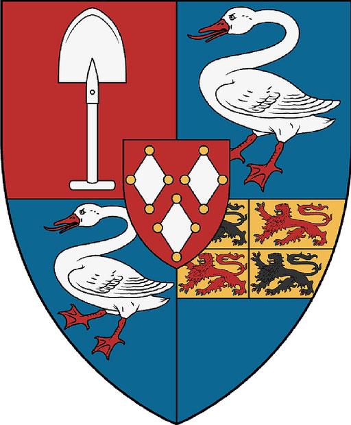Coat of arms De Graeff, Vrijheer Polsbroek, Purmerland and Ilpendam