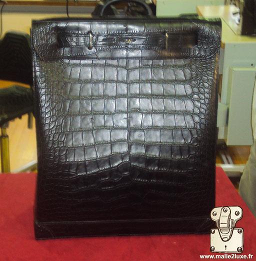 Steamer bag Louis Vuitton full crocodile ultra haut de game