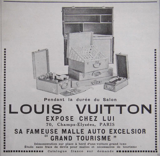 catalogue Louis Vuitton vintage