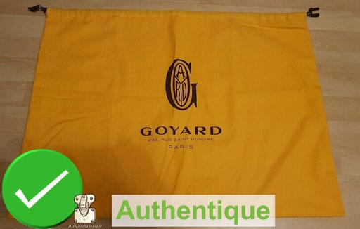 goyard dust bag