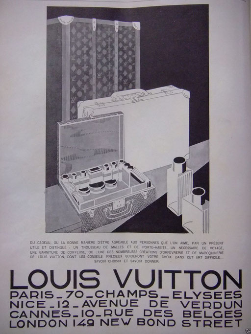 Ancienne malle louis vuitton