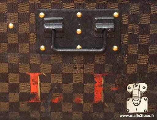 Personnalisation LP ancienne toile damier Louis Vuitton initiales