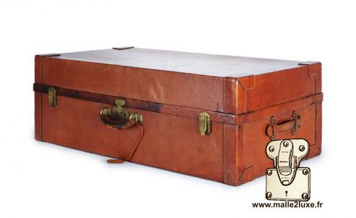 Valise Hermes paris cuir ancienne