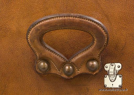 Hermes paris leather trunk handle