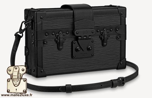 sac petite Malle Louis Vuitton Virgil black serie