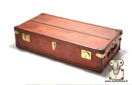Hermes paris leather trunk