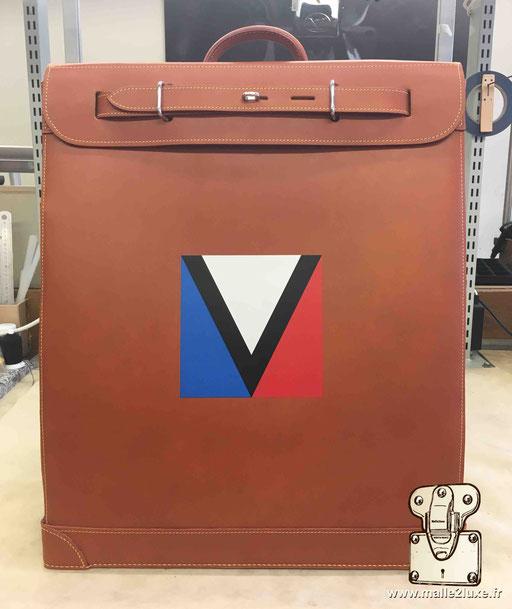 Steamer bag Louis Vuitton cuir commande spéciale