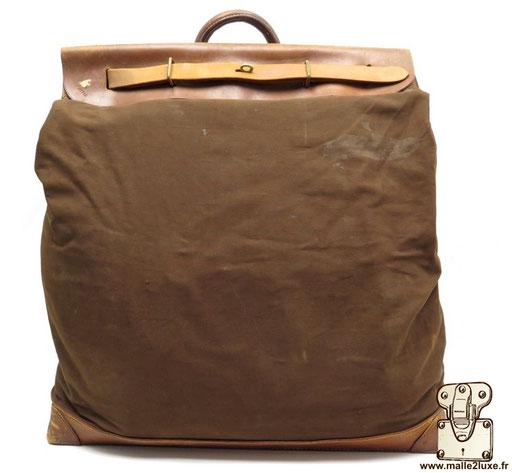 Steamer bag Louis Vuitton toile tissé brute