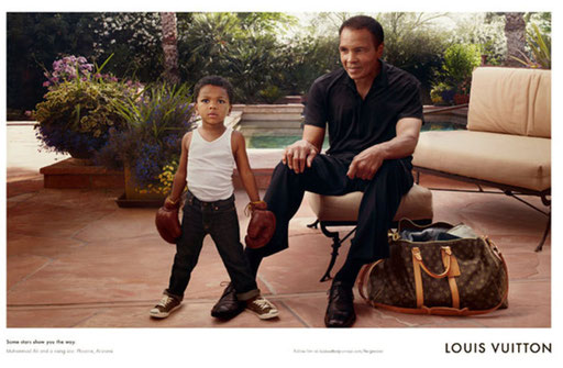 boxer Louis Vuitton Mohamed ali ! la légende