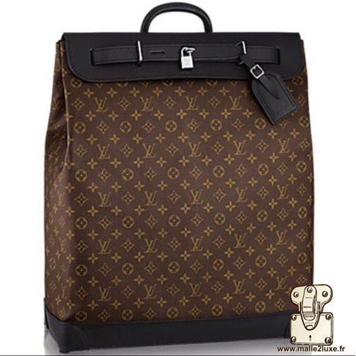 Steamer bag Louis Vuitton masculin homme