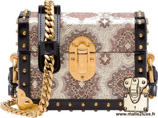 petite malle pochette de luxe Prada
