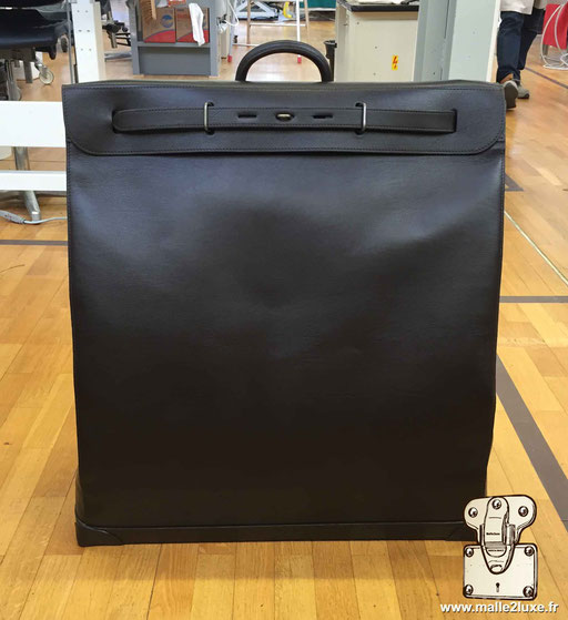 Steamer bag Louis Vuitton cuir black