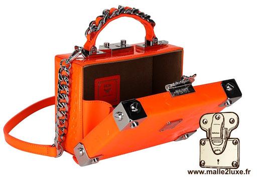 mini malle mcm berlin petite trunk sac a main couleur mode