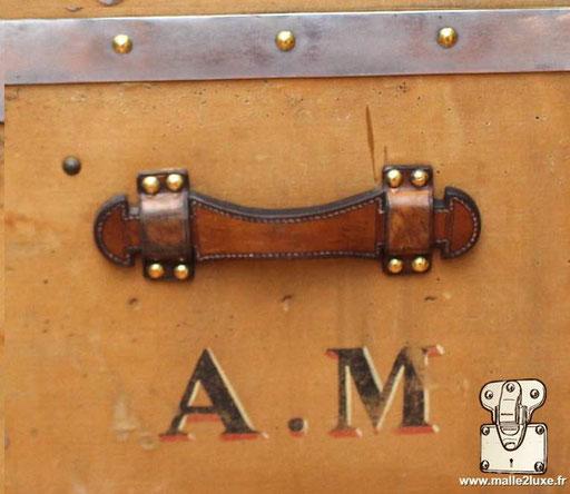 Personnalisation initiales AM Louis Vuitton ancienne