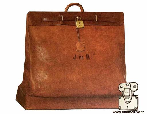 Steamer bag Louis Vuitton full cuir 1936