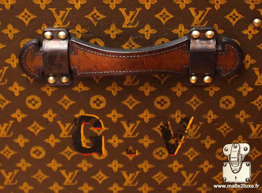 Personnalisation ancienne GV Louis Vuitton ancienne