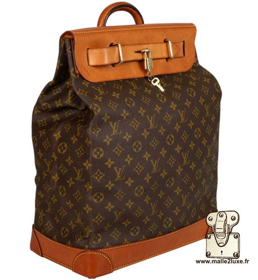 Steamer bag Louis Vuitton classic