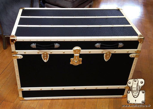 learn how to make a trunk luxury not for sale  leather french