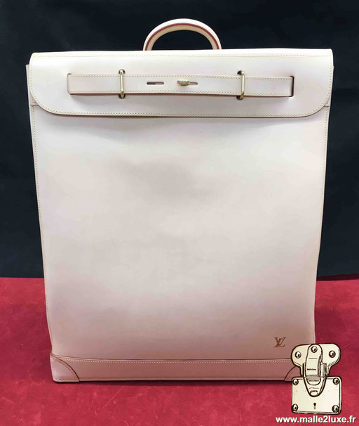 Steamer bag Louis Vuitton VVN cuir vache vegetal naturel