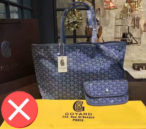 full set fake bag Goyard Paris