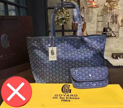 full set fake bag Goyard Paris