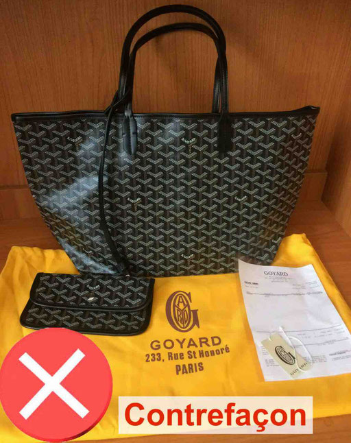 contrefacon sac saint louis goyard