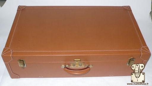 Hermes paris leather suitcase