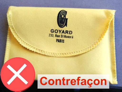 Dust bag Goyard counterfeit copy