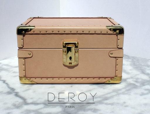 fabriquer boite a bijoux sur mesure avec les accessoires de luxe malle2luxe paris