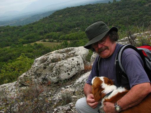 Premiere rando sur les Monts de Clansayes